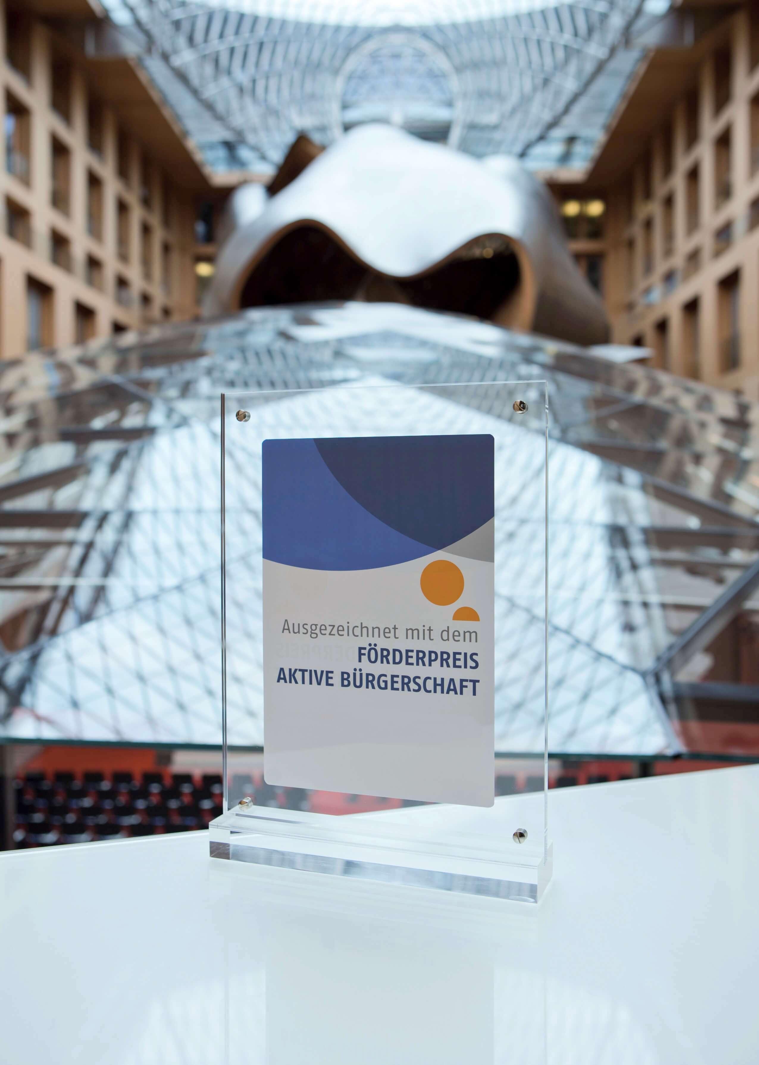Förderpreis Aktive Bürgerschaft Stiftung Aktive Bürgerschaft