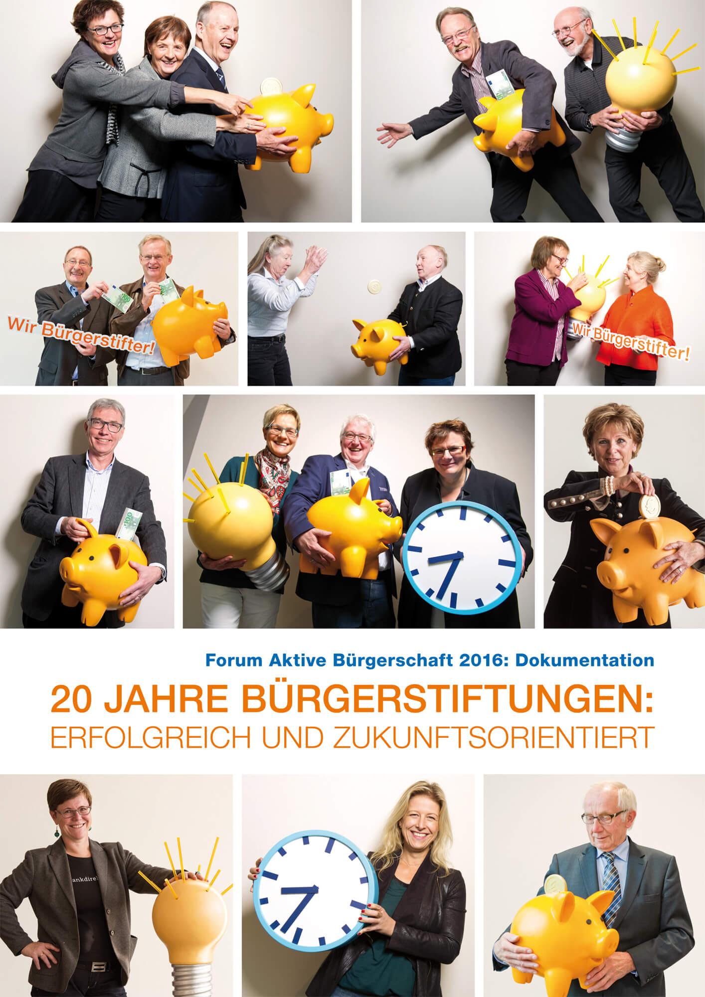20 Jahre Bürgerstiftungen - Erfolgreich und Zukunftsorientiert
