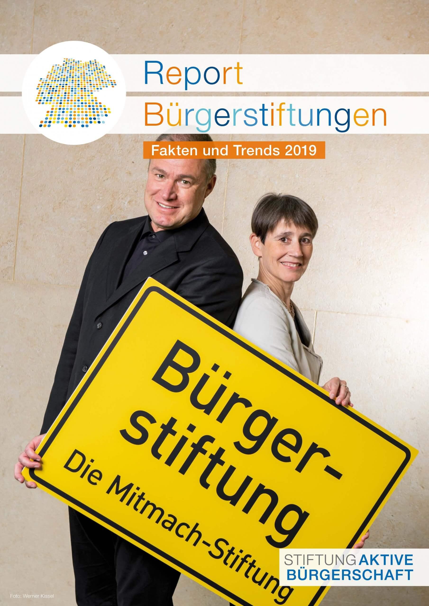 Cover Report Bürgerstiftungen 2019