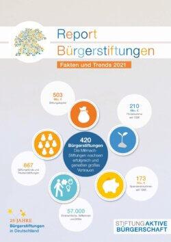 Report Bürgerstiftungen 2021 Cover